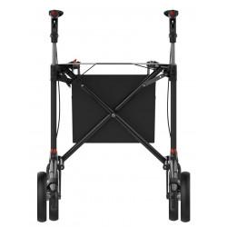 ATHLON SL rollator med soft hjul set bagfra