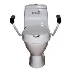 toiletsaedeforhoejer til at montere fast på toilettet