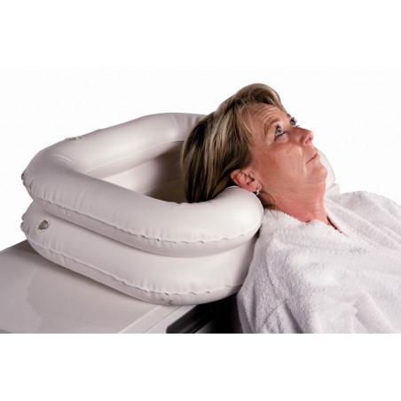 Badestol med ryg