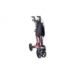 SimpleCare Letvægts rollator pakke tilbud Rød