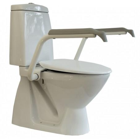 Toiletforhøjer, fastmonteret