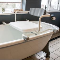 Drejbar badekarsæde