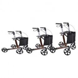 Rollator I tre forskellige højder